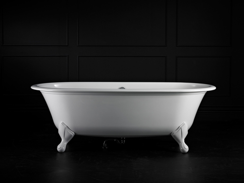 Radford Claw foot bath 1902 x 910mm, without overflow, with White Quarrycast feet
