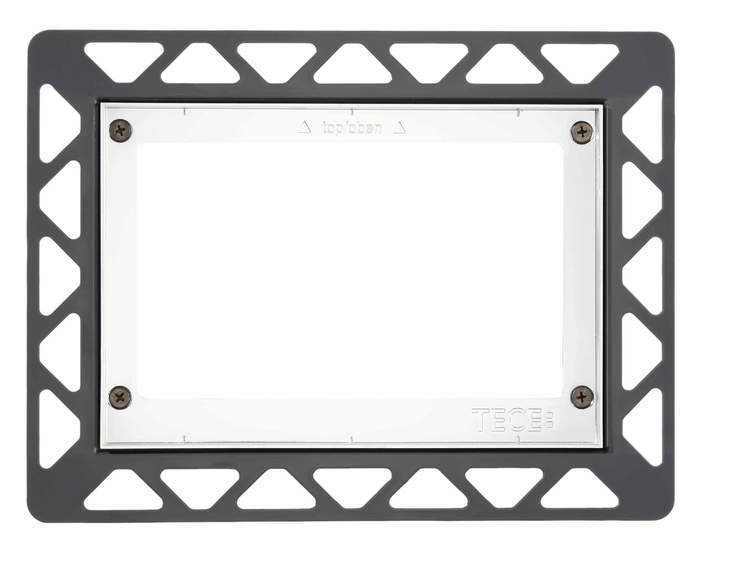 TECE recessed frame - White