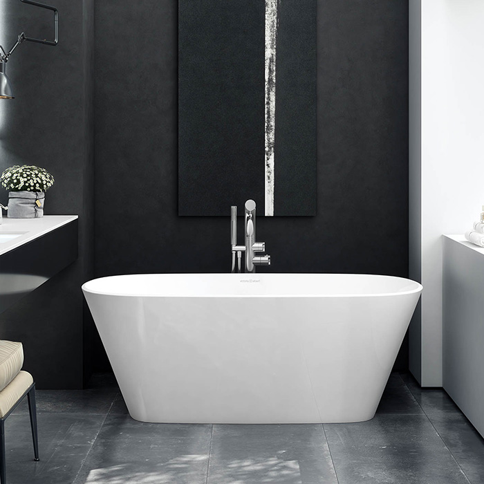 Vetralla Freestanding bath 1500 x 731mm, without overflow