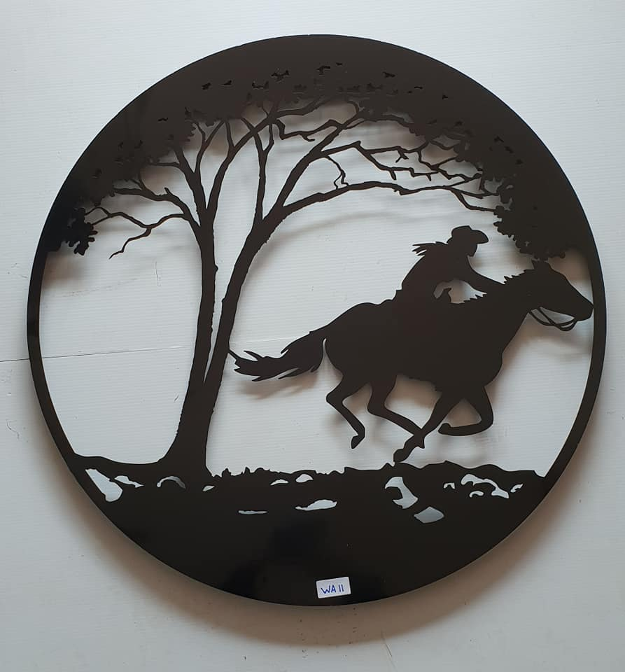 Round Large Wall Art - assorted