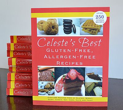 Celeste's Best Gluten-Free, Allergen-Cookbook - Over 250 Tested Recipes Free of Gluten, Wheat, Dairy, Casein, Soy, Corn, Nuts and Yeast | www.celetesbest.com | #glutenfree #gfree