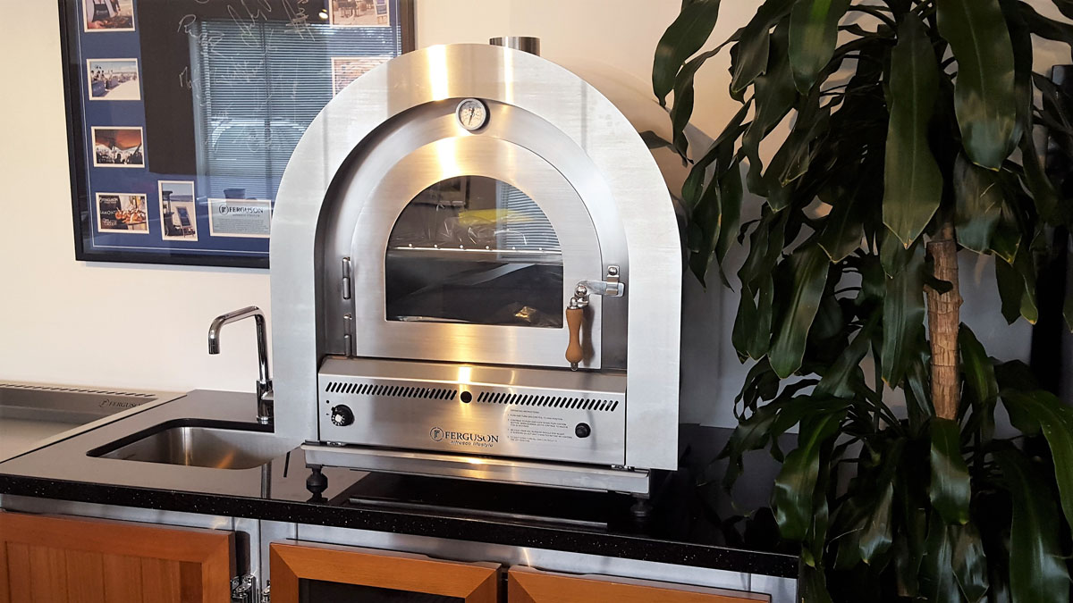 Ferguson Alfresco Lifestyle  Stainless Steel Gas Pizza Ovens