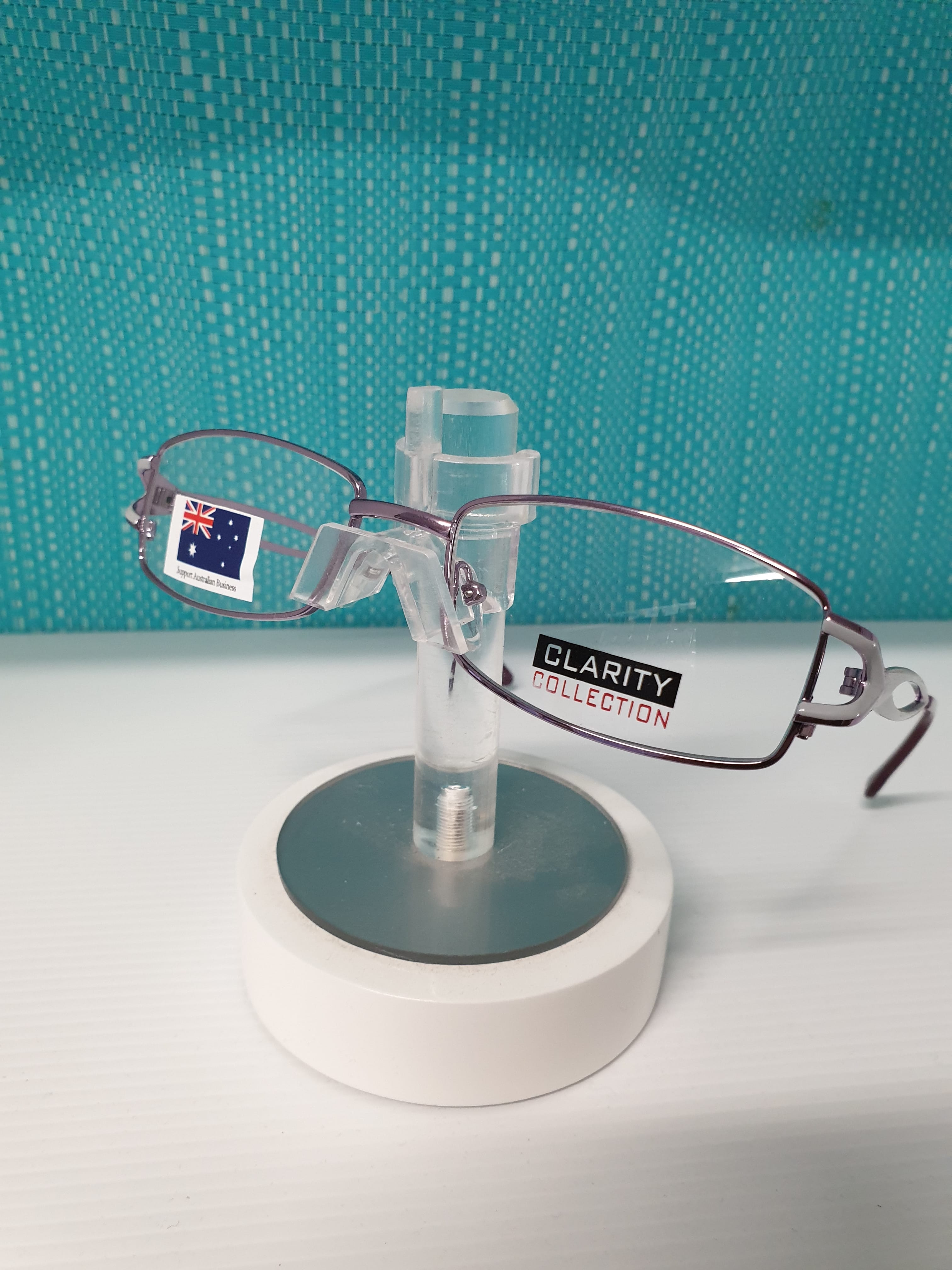 Clarity  Stainless Frame