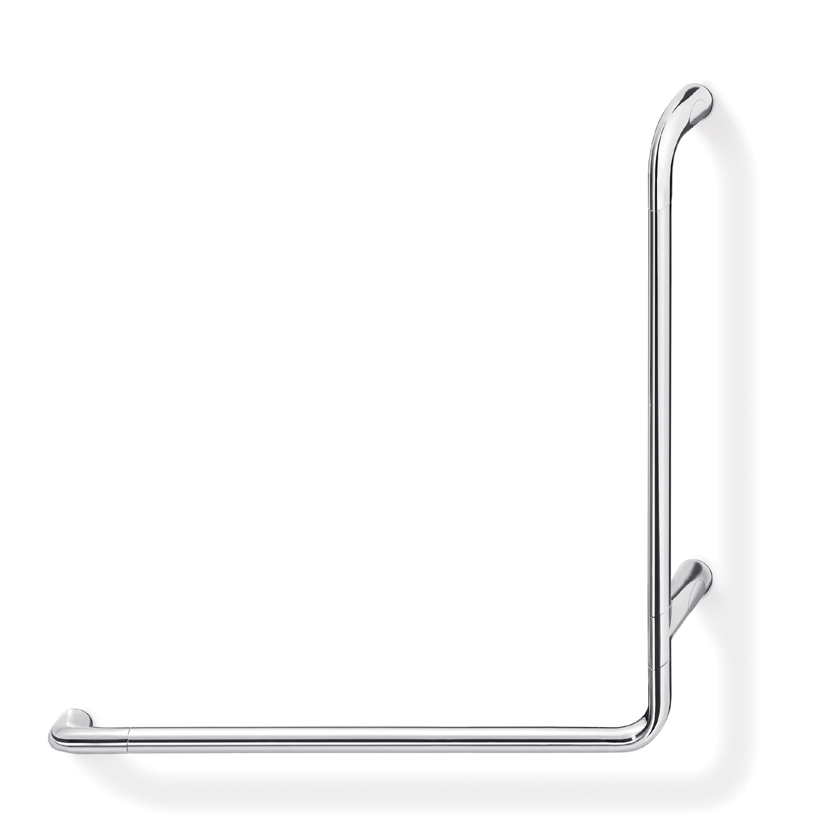 Confort L Shaped safety rail Right hand 67 x 67cm
