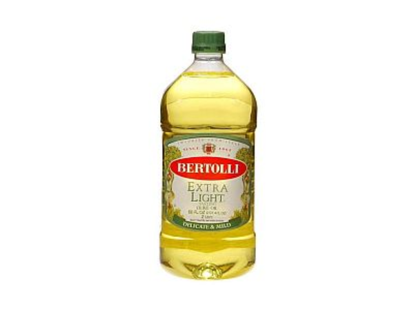 Extra Light Olive Oil is an uncompromising substitute for butter. It has a light, mild taste.