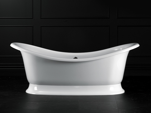 Marlborough freestanding bath with plinth 1901 x 870mm, without overflow