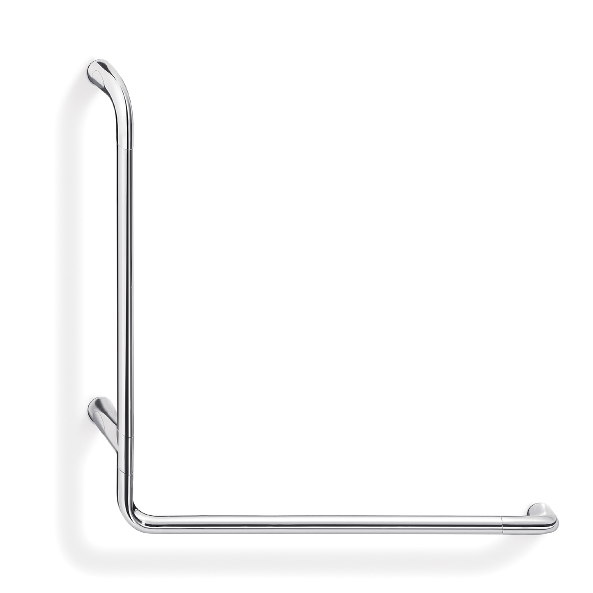 Confort L Shaped safety rail Left hand 67 x 67cm