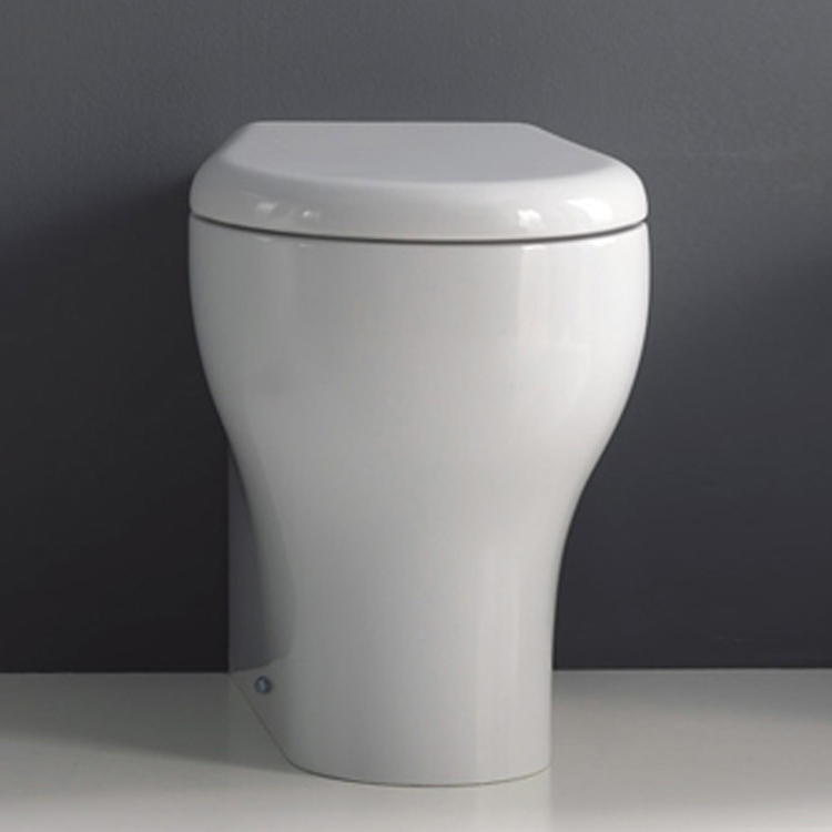 K09 Pedestal Suite with TECE 8cm cistern and TECEnow 9.240.401 button