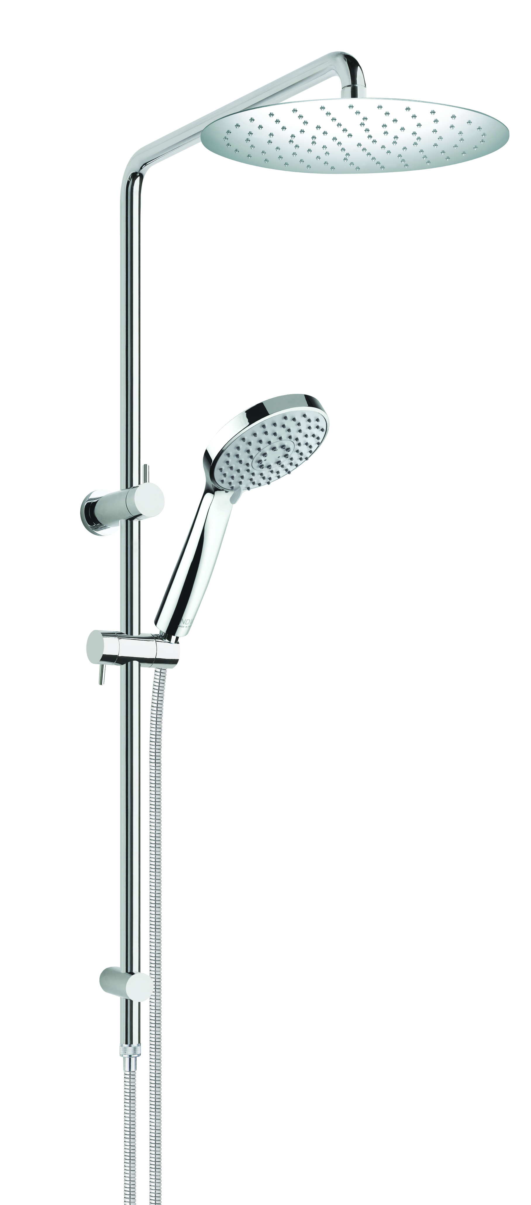 Concentric 3F Shower Riser & Rail Combination Set inc.