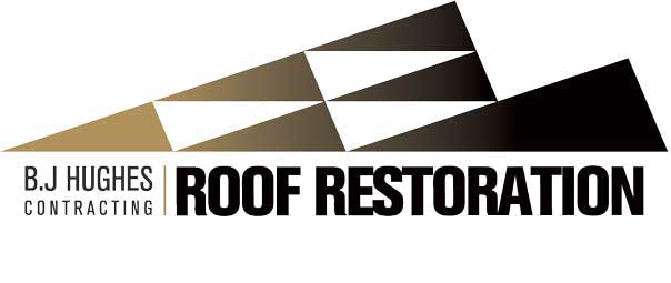 BJ Hughes Roof Restoration Logo