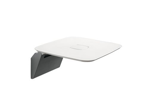 Hotellerie Shower seat fold up White = WZ