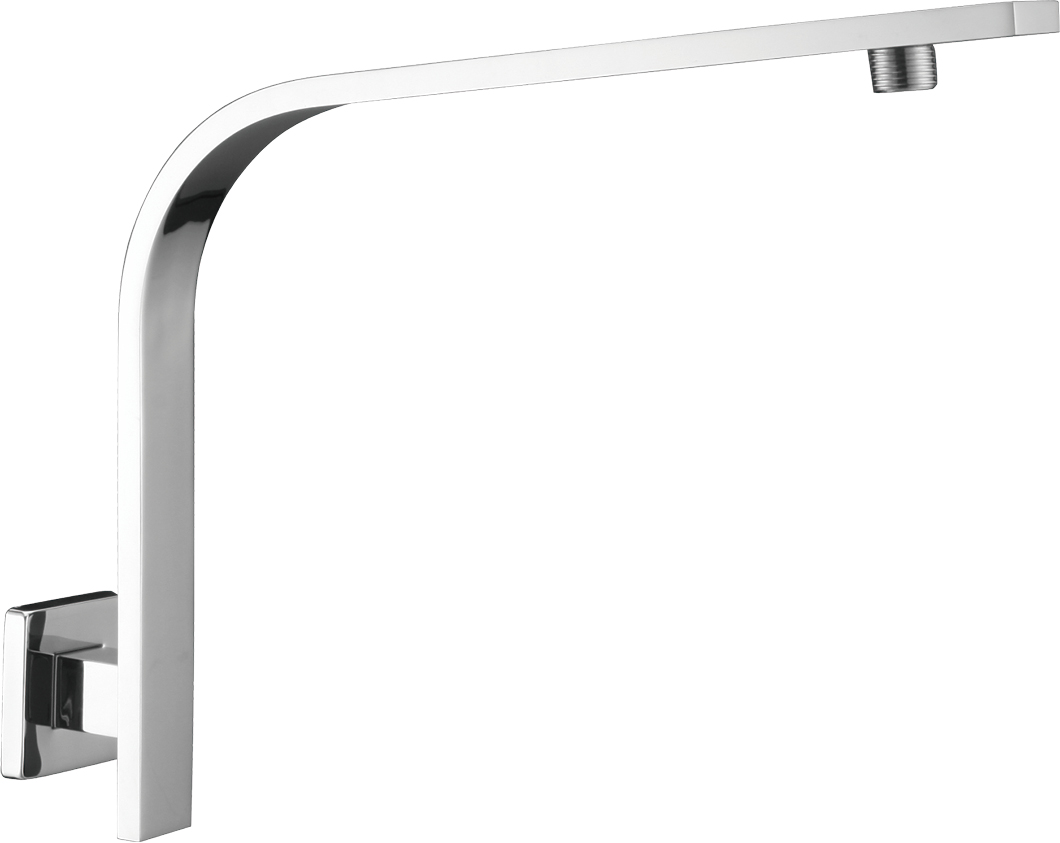 Flat Bar High Rise Shower Arm