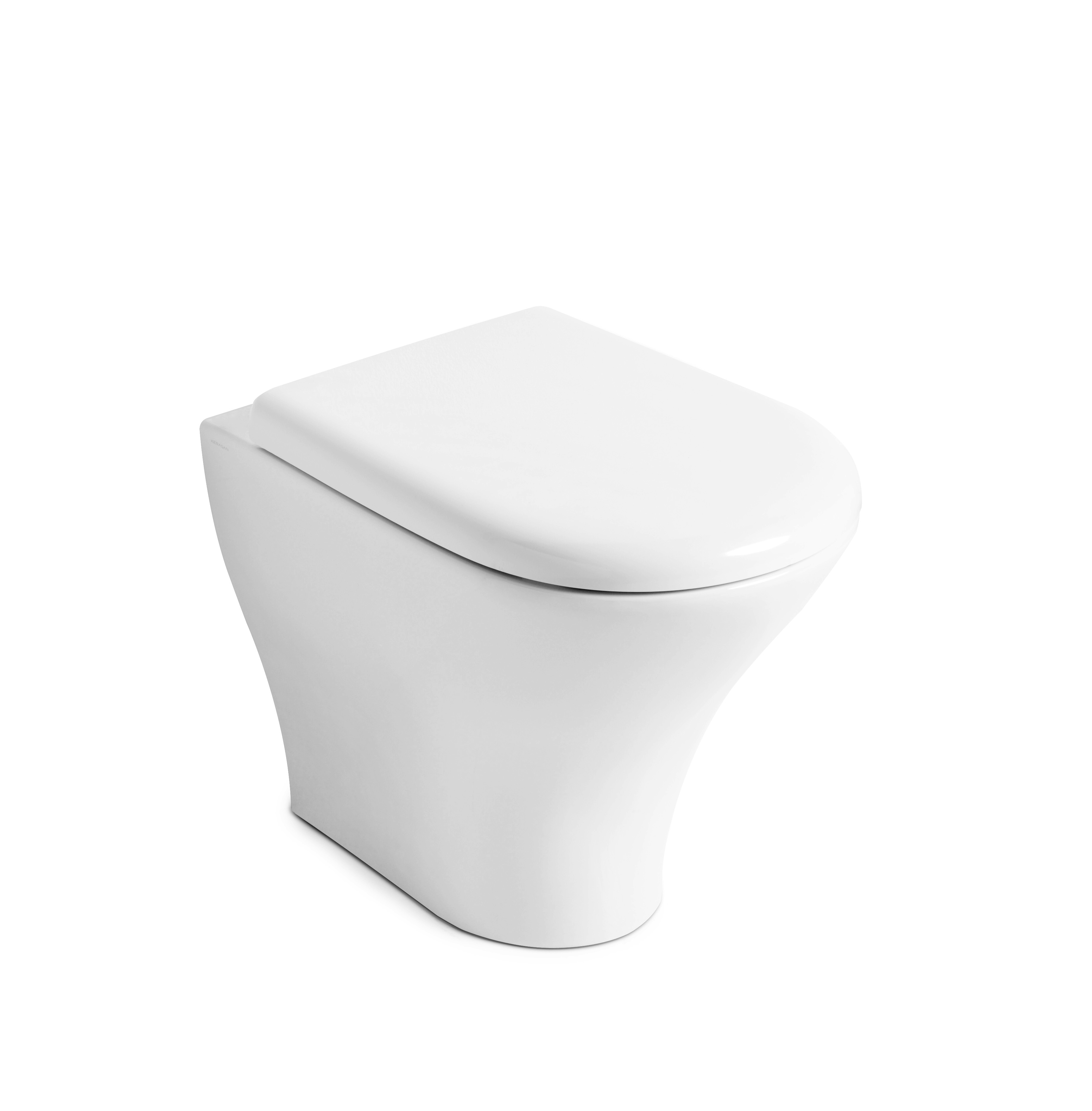 Aquatech Pedestal Suite with TECE 8cm cistern and TECEnow 9.240.401 button
