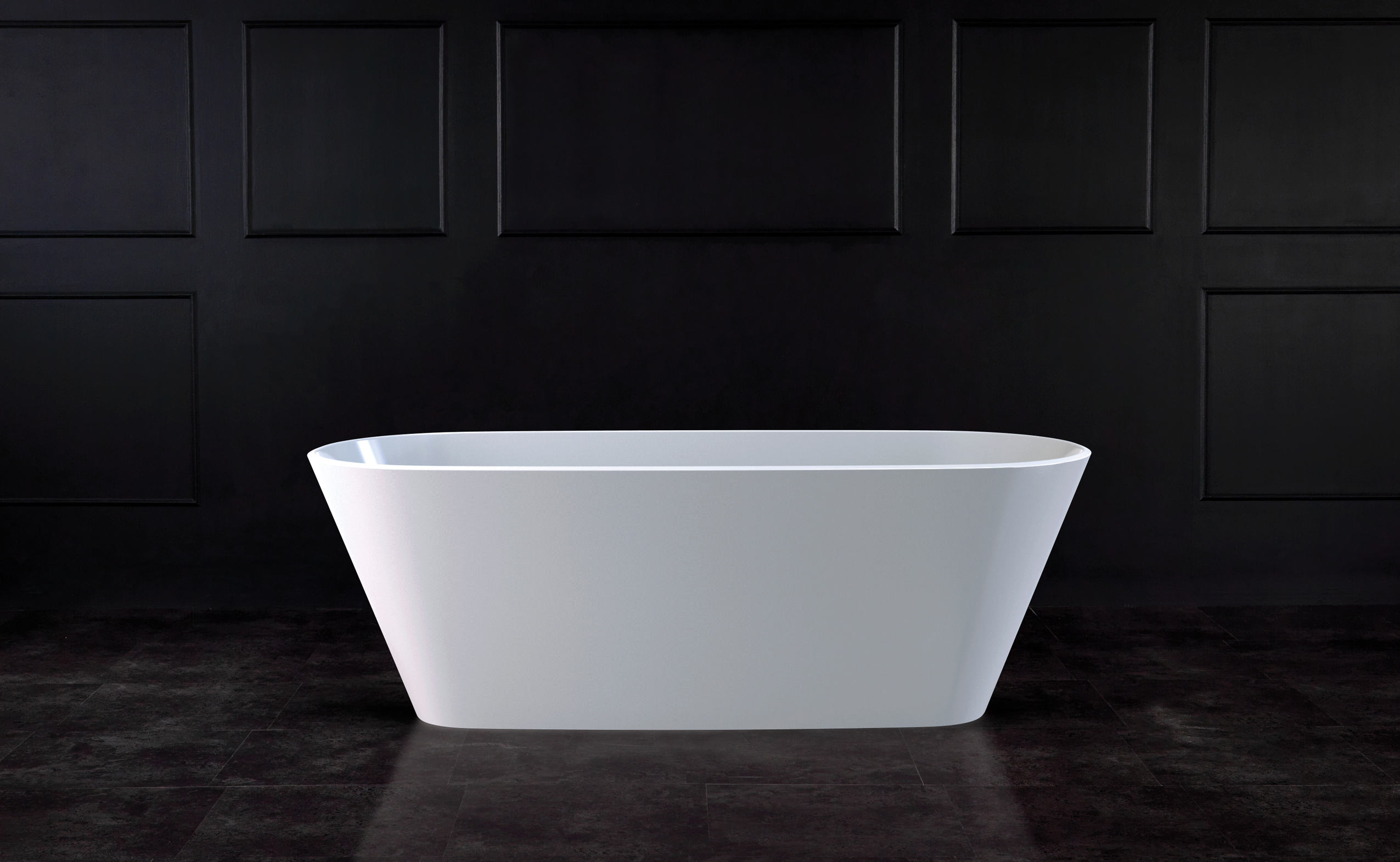 Vetralla 2 Freestanding bath 1650 x 731mm, without overflow